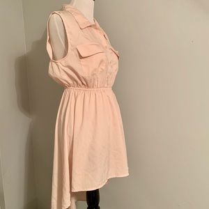 Truth NYC Baby Pink High-low Dress